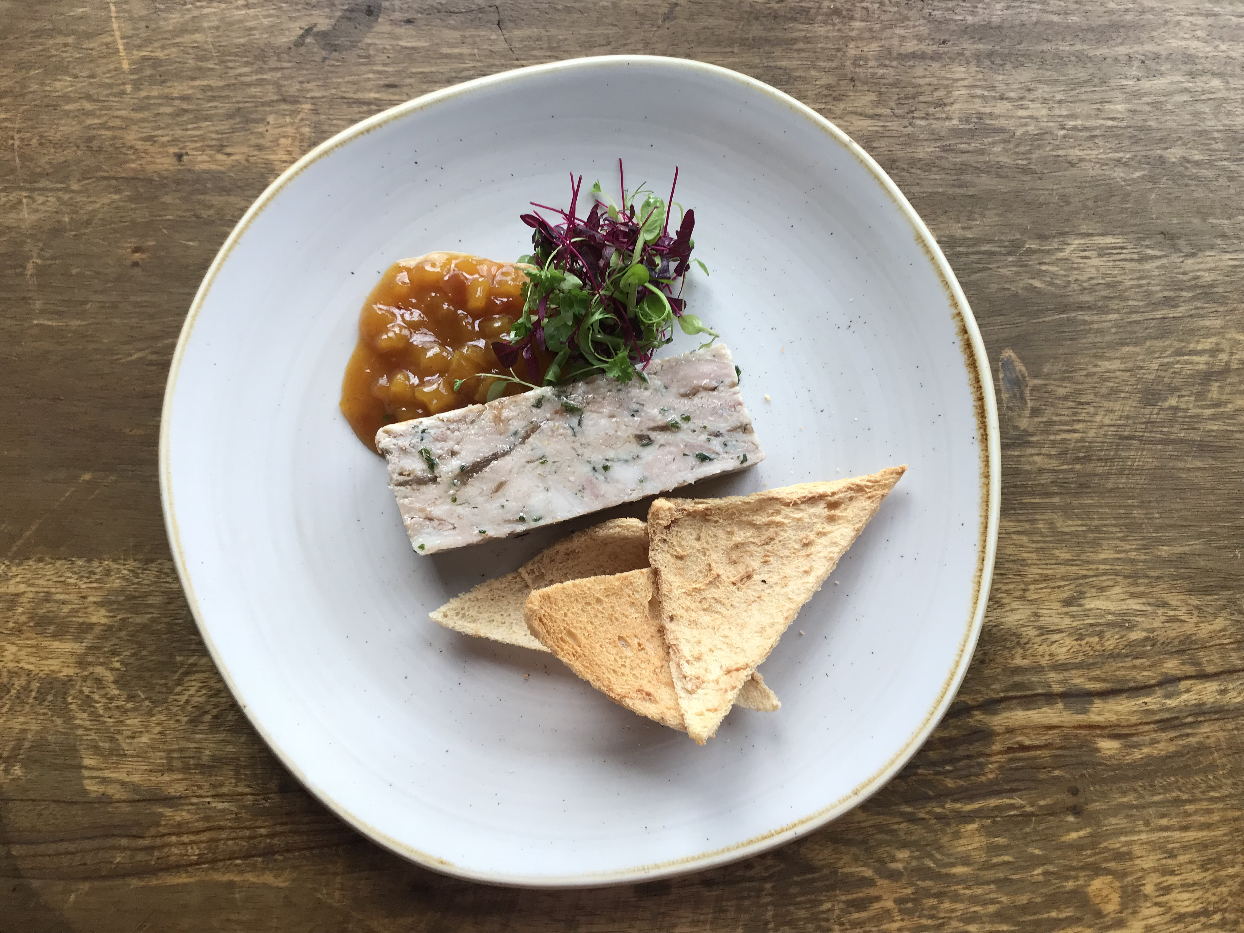 Smoked Chicken & Herb Terrine